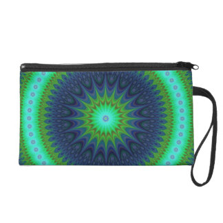Winter-Mandala Wristlet
