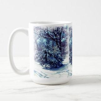 Winter-Märchenland-WeihnachtsTasse Kaffeetasse