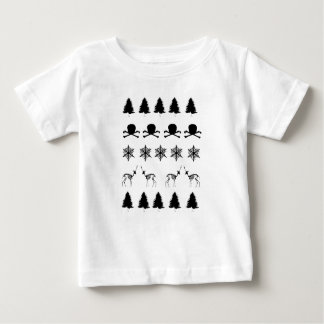 Winter-Muster Baby T-shirt
