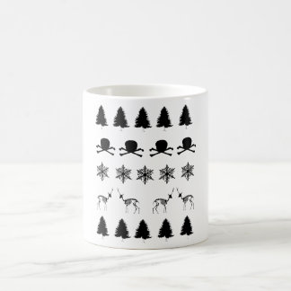 Winter-Muster Kaffeetasse