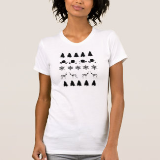 Winter-Muster T-Shirt