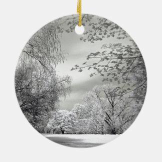 Winter, nicht keramik ornament
