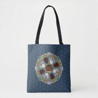 Winter Nouveau ganz vorbei - Druck-Tasche Tasche