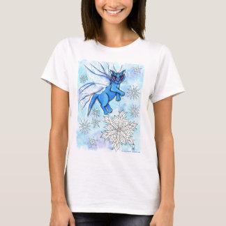Winter-Schneeflocke-feenhaftes T-Shirt