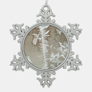 Winter Schneeflocken Zinn-Ornament