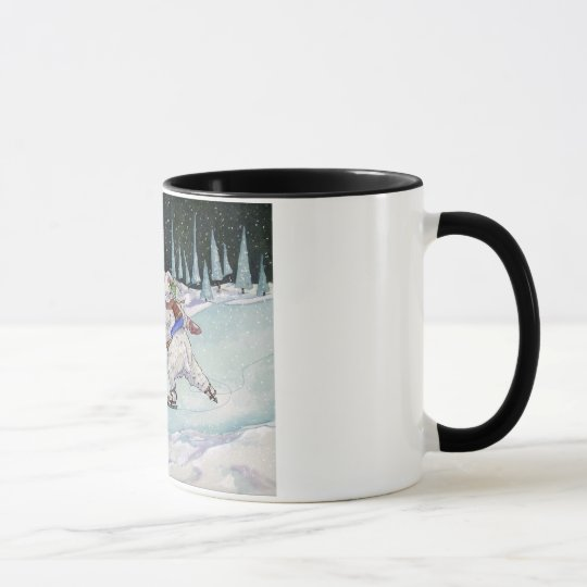 Winter-Skate-Tasse Tasse
