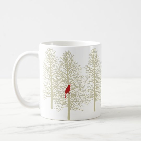 Winter-Wald Tasse