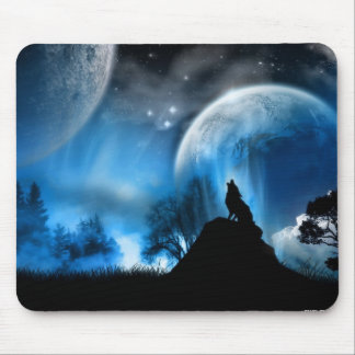 Winter-Wolf Mauspad