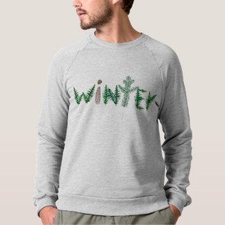 Winter-Zweige Sweatshirt
