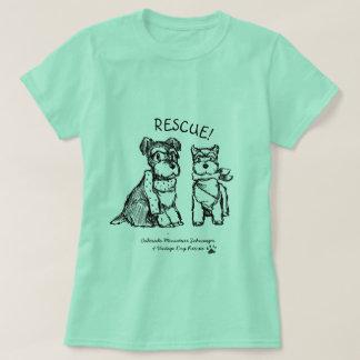 WinterSchnauzers - grundlegender T - Shirt