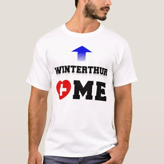 Winterthur Loves Me by TCHDesign T-Shirt