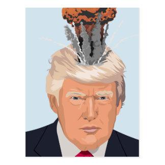 Winzige Furz-Postkarte des Gehirn-77 Postkarte