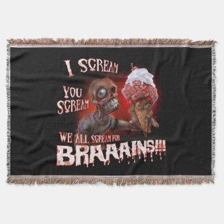 Wir alle Schrei für Braaains Decke