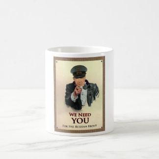 Wir benötigen Sie Plakat des Deutsch-WW2 Kaffeetasse