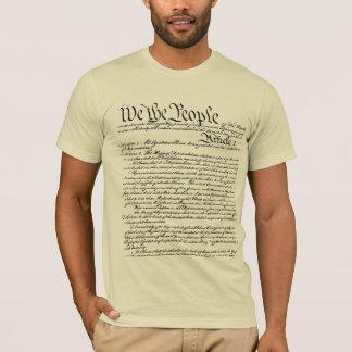 Wir der Leute-Konstitutions-T - Shirt (hergestellt