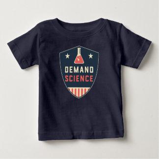 Wir die Leute-Nachfrage-Wissenschaft in Amerika Baby T-shirt