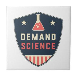 Wir die Leute-Nachfrage-Wissenschaft in Amerika Fliese