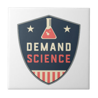 Wir die Leute-Nachfrage-Wissenschaft in Amerika Kleine Quadratische Fliese