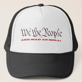 Wir die Leute sind als Höllen-Hüte wütend Truckerkappe
