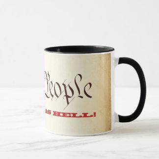 Wir die Leute sind als Höllen-Kaffee-Tasse wütend Tasse