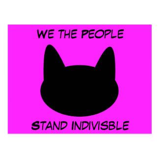 Wir die Leute-Stand vereinigten Postkarten
