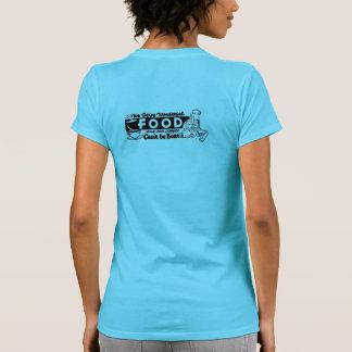 """""""Wir dienen wunderbare Nahrungsmittel"""" Restaurant T-Shirt"""