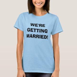 WIR ERHALTEN VERHEIRATET! - Besonders angefertigt T-Shirt
