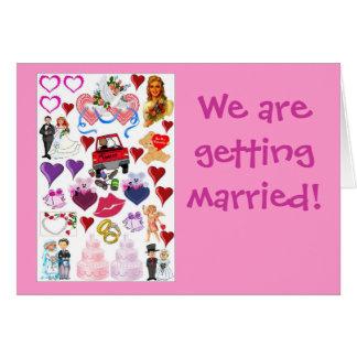 Wir erhalten verheiratet karte