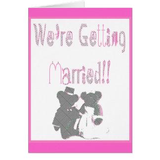 Wir erhalten! verheiratet! karte