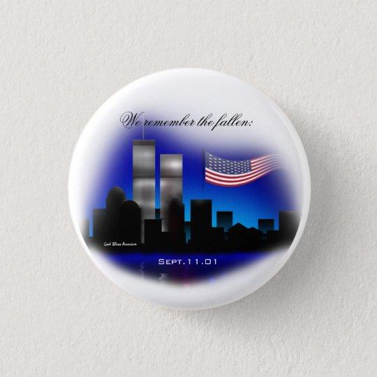 Wir erinnern uns den an gefallenen Denkmal-Knopf Runder Button 2,5 Cm