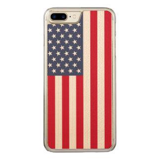 Wir Flagge Carved® Ahorn iPhone 7 Plusstoßfall Carved iPhone 7 Plus Hülle