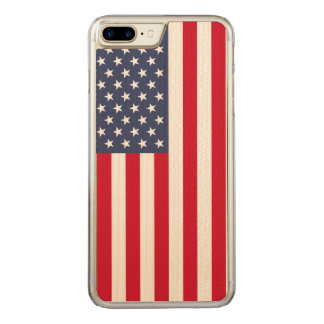 Wir Flagge Carved® Ahorn iPhone 7 Plusstoßfall Carved iPhone 8 Plus/7 Plus Hülle