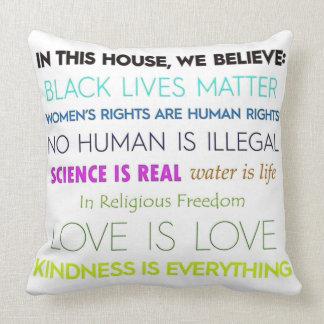 Wir glauben: Kissen