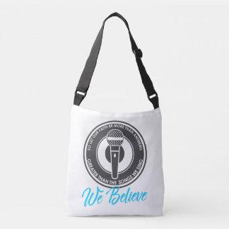 Wir glauben Riemen-Tasche Tragetaschen Mit Langen Trägern