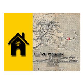 Wir haben b-Haus-Karte ersetzen durch Ihre eigene Postkarte