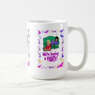 Wir haben ein Party, Henne-Party Tasse