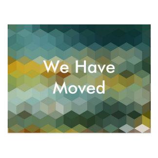 Wir haben Mitteilung bewegt Postkarte