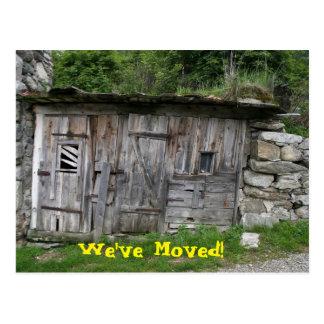 Wir haben Ruine bewegt Postkarte
