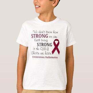 """""""Wir kennen nicht"""" arteriovenöses T-Shirt"""