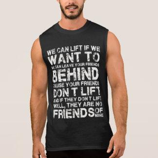 Wir können anheben, wenn wir zum lustigen Shirt