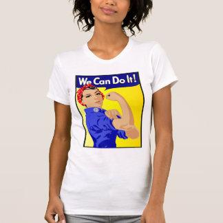 Wir können es tun feministisch T-Shirt