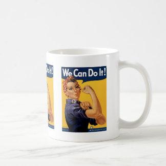 Wir können es tun kaffeetasse
