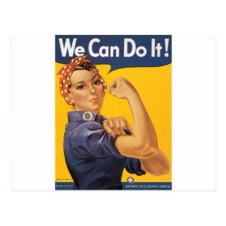 Wir können es tun! postkarten