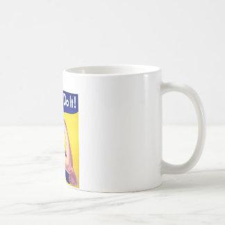Wir können es tun Rosie der Nieteneinschläger Kaffeetasse