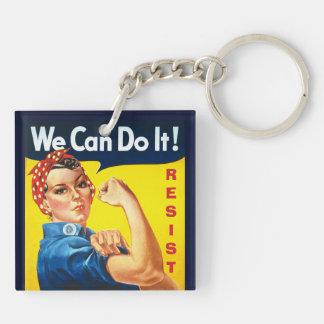 Wir können es tun - Rosie der Nieteneinschläger - Schlüsselanhänger