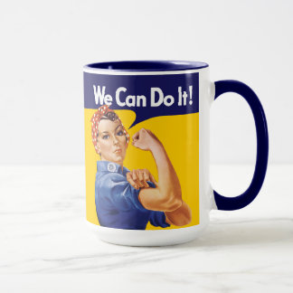 Wir können es tun! Rosie der Nieteneinschläger Tasse