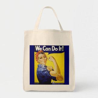 Wir können es tun! tragetasche
