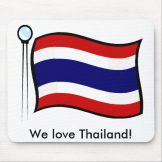 Wir Liebe Thailand Mousepads