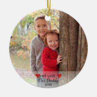 Wir Liebe unsere Herzen des Vati-| u. 2 Keramik Ornament