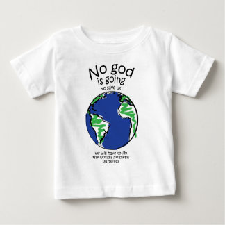 Wir müssen die Probleme der Welt regeln selbst Baby T-shirt